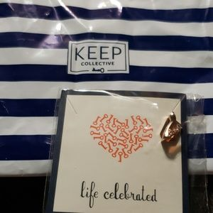 KEEP Collective Jewelry - Keep Collective Rose Gold high heel charm